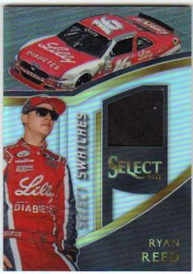 2017 Panini Select Racing Swatches Firesuit Relic #49 Ryan Reed