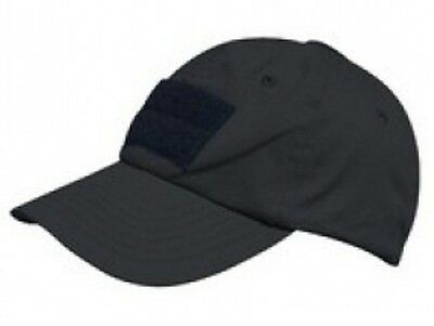 US OPERATOR TACTICAL Contractor Police Mütze Cap black schwarz