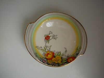 Royal Winton Small Dish Bowl Flowers Poppies Vintage England 1930s Pretty