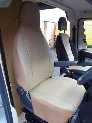 Suitable For  A Peugeot Boxer Motorhome,2002,seat Covers, Elsie Mh-195