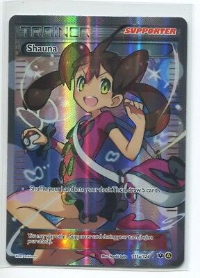 Pokemon TCG Premium Trainer's Collection Shauna Full Art 111a/124 NM/M SKU#218