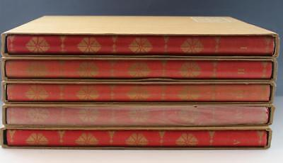 5-Volume Book Set Paintings & Statues President Sukarno Republic of Indonesia