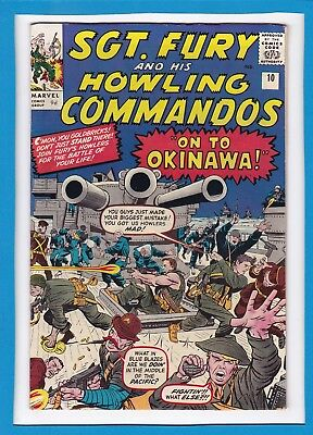 Sgt Fury & His Howling Commandos #10_Sept 1964_Fine/very Fine_Jack Kirby_Uk!