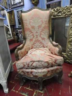 Cutest Antique Small Armchair Low By Fireplace Wooden The Walnut 900