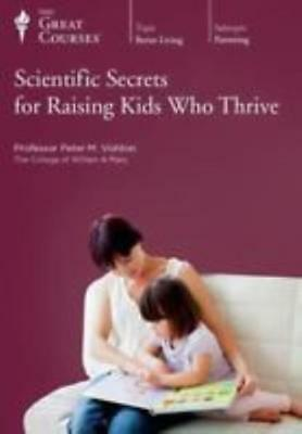 Scientific Secrets For Raising Kids Who Thrive 4-Disc Set DVD VIDEO MOVIE Great