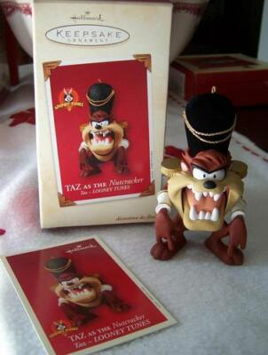 Hallmark Keepsake Ornament TAZ AS THE NUTCRACKER Dated 2003 NEW Looney Tunes