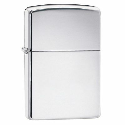 Zippo 250 Windproof Lighter High Polish Chrome