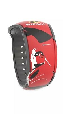 Disney Parks Magic Band Incredibles 2 Mr. Incredible Dad Red Magicband Linkable