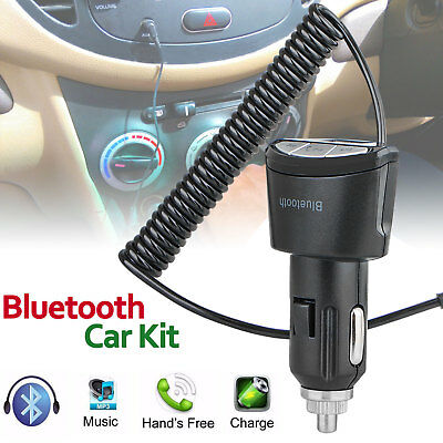3.5mm Car AUX Adapter Bluetooth Wireless Music Receiver Adapter Handsfree Phone