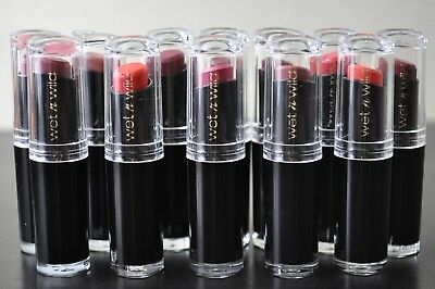 WET N WILD Mega Last Matte Lip Cover Lipstick *Choose Color* NEW! Free Shipping