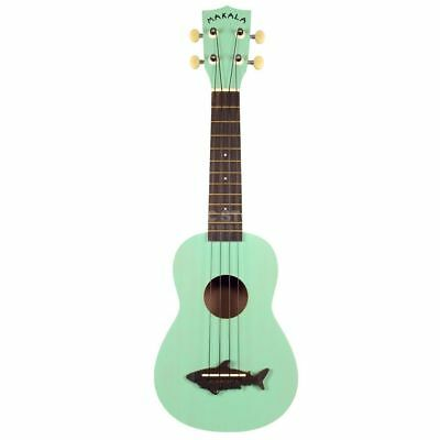 Kala Makala Shark Soprano Ukulele Green incl. Bag