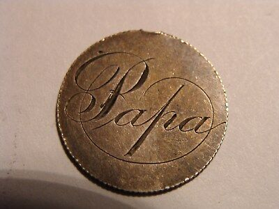 "* Seated Liberty 10c Love Token - "" Papa "" !"