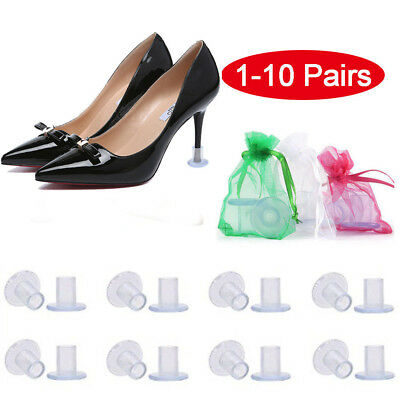 5-10Pairs High Heel Protectors Stopper Stop Sinking Stiletto High Heel Cover New
