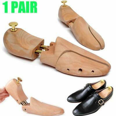 Adjustable Men Women Cedar Wood Boot Shoe Tree Stretcher Sharper Keeper Care