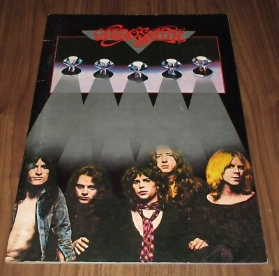 AEROSMITH debut 1977 JAPAN tour book CONCERT PROGRAM more AEROSMITH in stock!