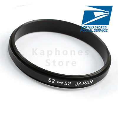 52mm Male to 52mm Male Marco Reverse Coupling Ring Adapter US FAST SHIP