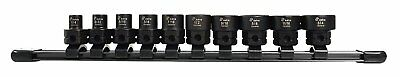 "Astro Pneumatic 78310 SAE 3/8"" Drive Low Profile Nano Impact Sockets 10 pc"