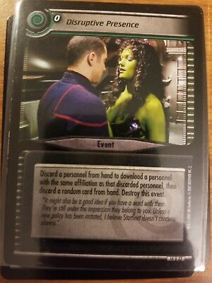 Star Trek CCG What You Leave Behind 14U9 Night Terrors NrMint-Mint