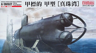 """FINE MOLDS® FS2 IJN Midged Submarine A-Target Type A """"Pearl Harbor"""" in 1:72"""