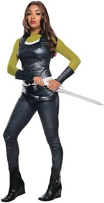Ladies Guardians Of The Galaxy Gamora Infinity War Fancy Dress Costume Outfit