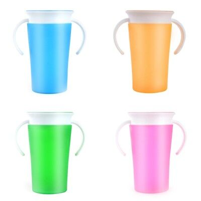 1Pc 360 Degree Magic Drinking Prevent Leaking Cup Student's Training Cup 260ML