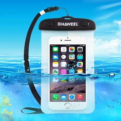 Universal Waterproof Underwater Dry Pouch Phone Bag Case Cover fo iPhone Samsung