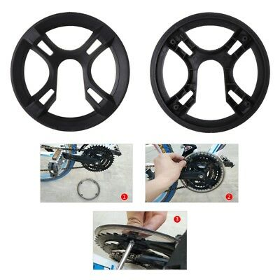Bicycle Chain Wheel Cover Plastic Plate Protective Guard Pivot Crank Accessories