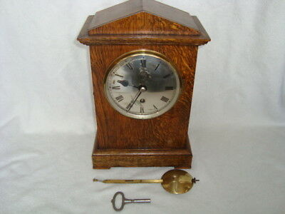 Fabulous Rare Large Ww2 Raf Elliot Fusee Officers Mess Clock A.m Crown Stamp