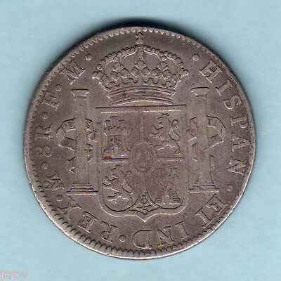 Mexico. 1797-MoFM  8 Reales..  gFine