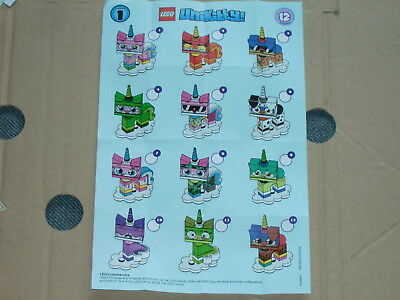 LEGO 41775 Unikitty Collectible Figures Series, 11 Stück, NEU!