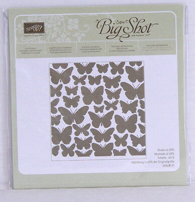 "Stampin' Up! Textured Impressions ""Schmetterlingsschwarm"" Embossingfolder"