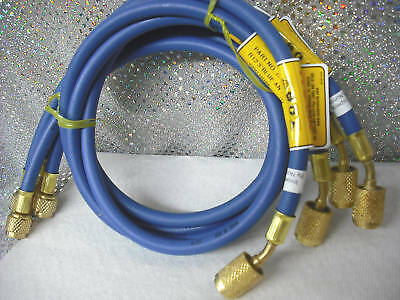 "CPS, BLUE, 36"", Charging Hose w/ANTI-BLOW-BACK Fitting"