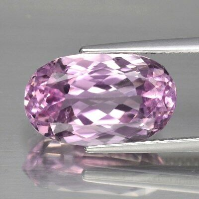VS 6.92ct 14.2x8.6mm Oval Natural Untreated Pink Kunzite, Afghanistan