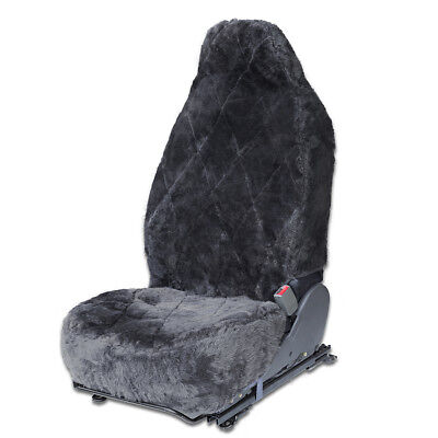 Real Sheepskin SUV Van Truck Seat Cover 1pc Real Australian Soft Pad Cushion