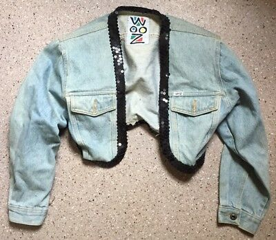 Madonna Owned And Worn Denim Jacket W/ Signature On Back Autograph