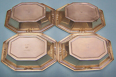 Vintage Sterling Silver WALLACE - lot of 4 - Candy Nut Dishes - 95.41 Grams