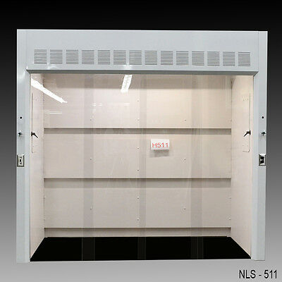 "Laboratory 8' Walk In chemical fume hood with 39"" deep work area NEW-"