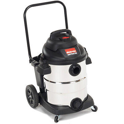 Shop-Vac 9626510 10-Gallon 6-1/2-HP Heavy Duty Stainless Steel Wet Dry Vacuum