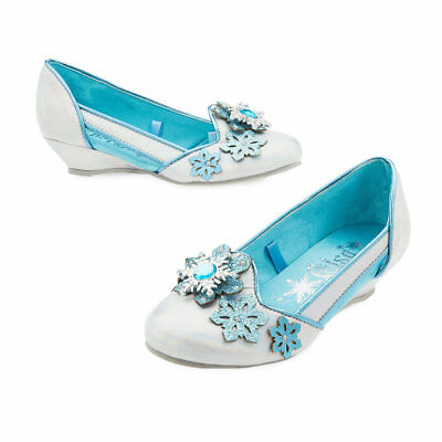 Disney Store Frozen Queen Elsa Shoes Wedges for Girls Size 7/8 9/10 11/12 13/1