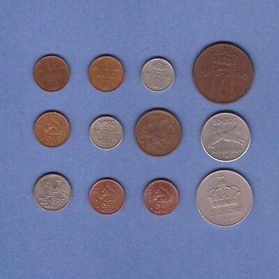 Norway - Coin Collection - Lot # K-59 - World/Foreign/Europe
