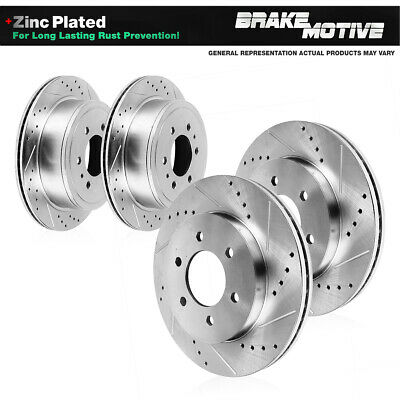 FRONT AND REAR Brake Disc Rotors Kit 2008 - 2015 CHEVY TAHOE