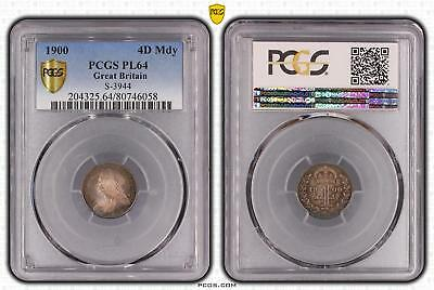 1900 PL64 Great Britain 4D Maundy S-3944 PCGS GRADED Proof Like Ch UNC #058