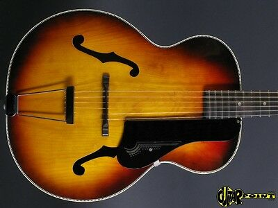1960 Harmony Broadway  H954  -  Sunburst   (Made in USA)
