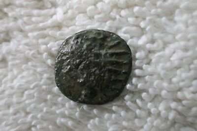 Unidentified Roman Or Greek Empire Bronze Ancient Coin   T57