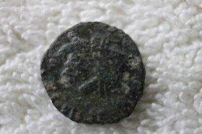 Unidentified Roman Or Greek Empire Bronze Ancient Coin   T59