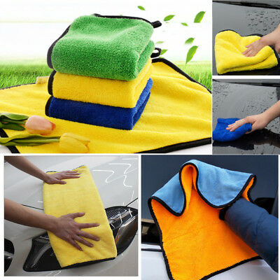 Super Absorbent Microfiber Towel Car Care Wash Clean Dry Polishing Cloth