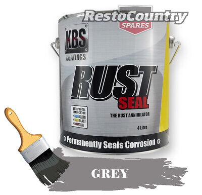 KBS RustSeal GREY 4 Litre Rust Seal Paint Rust Preventive Coating four