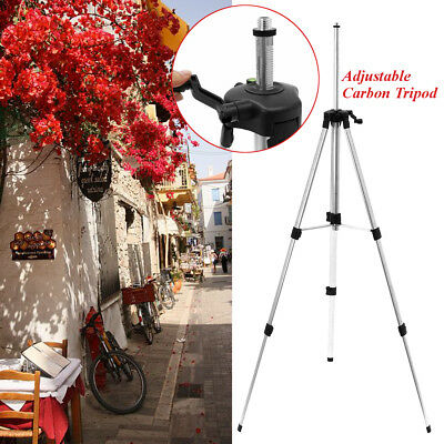 Adjustable Carbon Tripod 95/115/145cm Aluminum With 5/8 Adapter For Laser Level