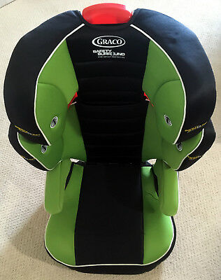 Graco Highback Turbobooster Car Seat Green