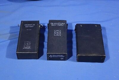 LOT of Assorted Quantum Battery Packs (NO CHARGER)  #L4135BP AS-IS